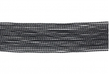 Цепь с шариками, медь, 1,5 мм, чёрная