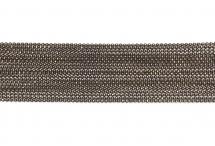 Цепь с шариками, медь, 1,5 мм, коричневая