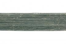Цепь с шариками, медь, 1,5 мм, тёмно-зелёная