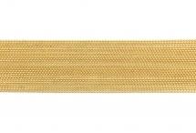 Цепь с шариками, медь, 1,5 мм, золотая