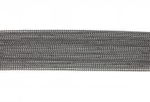 Цепь с шариками, медь, 1,5 мм, тёмно-серая