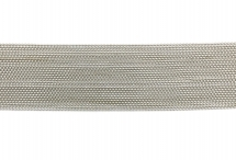 Цепь с шариками, медь, 1,5 мм, родиевая