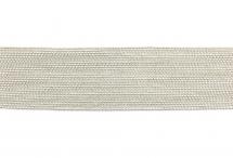 Цепь с шариками, медь, 1,5 мм, серебряная