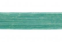 Цепь с шариками, медь, 1,5 мм, бирюзовая