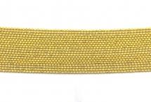 Цепь с шариками, медь, 1,5 мм, жёлтая