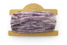 Корейская хлопковая синель, лиловая, 4 мм