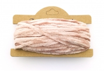 Корейская хлопковая синель, бледно-розовая, 4 мм
