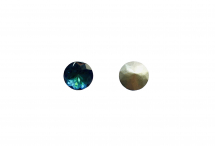 Кристалл, стекло К9, bermuda blue, 8 мм
