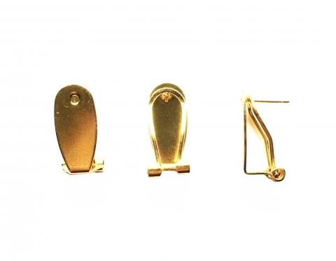 Швензы, латунь с золотым покрытием, 20*10 мм