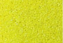 Японский бисер Delica №11, радужный жёлтый