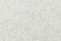 Японский бисер Delica №11, прозрачный радужный кристалл