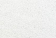 Японский круглый бисер Miyuki №15, белый непрозрачный