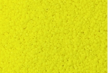 Японский круглый бисер Miyuki №15, жёлтый непрозрачный