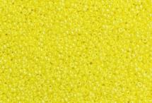 Японский круглый бисер Miyuki №15, блестящий жёлтый