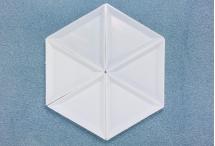 Сортировочные лоточки для работы, пластик, 64*73*10 мм