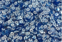 Фигурные пайетки, Индия, Dark Blue, 5 мм