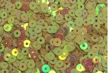 Пайетки, Индия, Jasmine Gold Rainbow finish, 4 мм