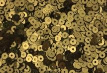 Пайетки, Индия, Antique Gold, 4 мм