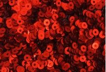 Пайетки, Индия, Blood Red, 2,5 мм