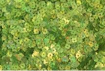 Пайетки в виде цветка, Индия, Rainbow Green, 5 мм