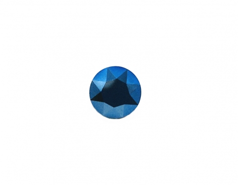 Шатон Swarovski, metallic blue, 8.16-8.41 мм (SS39)