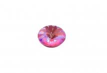 Овальный риволи Swarovski, crystal lotus pink DeLite, 8*6 мм
