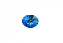 Овальный риволи Swarovski, crystal royal blue DeLite, 14*10,5 мм