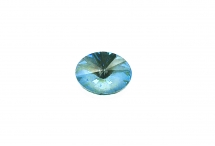 Овальный риволи Swarovski, crystal silky sage DeLite, 8*6 мм