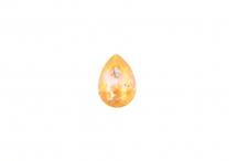 Капля Swarovski, crystal peach DeLite, 14*10 мм