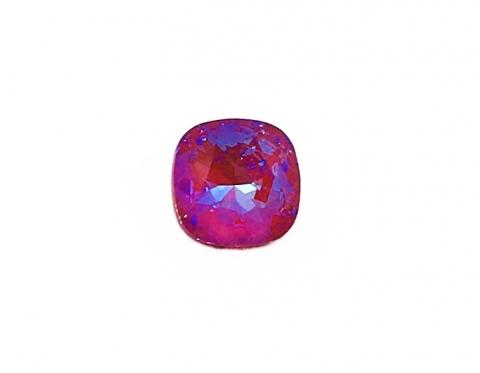 Квадрат Swarovski, crystal royal red DeLite, 10 мм