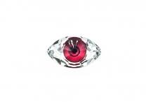 Хрустальный кристалл, pink eye, 18*10,5 мм