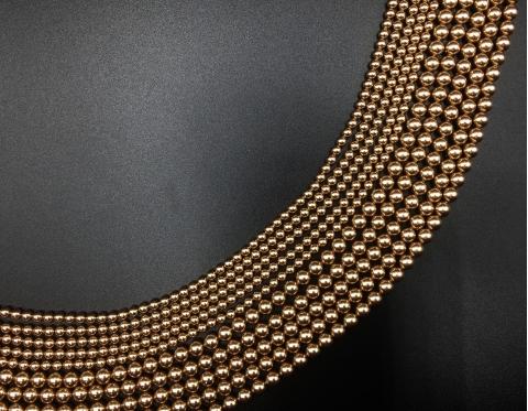 Жемчуг Swarovski, bronze, 6 мм