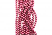 Жемчуг Swarovski, mulberry pink, 3 мм
