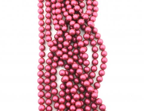 Жемчуг Swarovski, mulberry pink, 8 мм