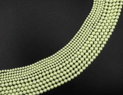 Жемчуг Swarovski, pastel green, 6 мм