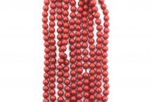 Жемчуг Swarovski, red coral, 6 мм