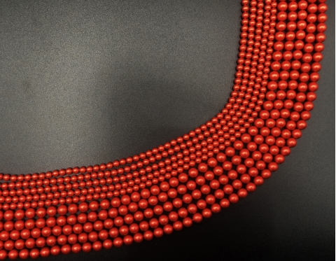 Жемчуг Swarovski, rouge, 6 мм