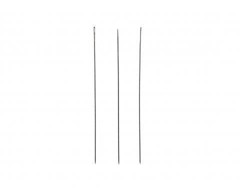 Игла John James, Англия, сталь с никелевым покрытием, 5 см, №12