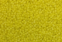 Японский круглый бисер TOHO №11, Opaque-Rainbow Frosted Dandelion