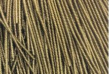 Канитель, трунцал, бамбук, 1,5 мм, античное золото