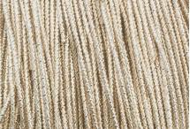 Канитель, трунцал, бамбук, 1,5 мм, розовое золото