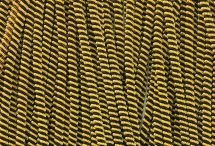 Канитель, трунцал, витая 4 мм, чёрно-золотая