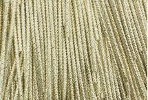 Канитель, трунцал, бамбук, 1,5 мм, светлое золото