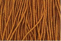 Канитель, трунцал, бамбук, 1,5 мм, медово-оранжевая