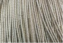 Канитель, трунцал, бамбук, 1,5 мм, бледное золото
