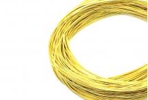 Канитель, жёсткая, жёлтое золото