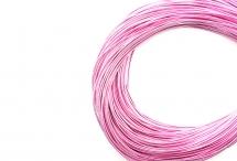 Канитель, жёсткая, розовая