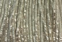 Канитель, трунцал, 4-х граненая, 3 мм, серебро