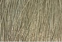Канитель, трунцал, 4-х граненая, 1,5 мм, серебро