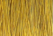 Канитель, гладкая, 1 мм, тёмное золото